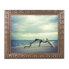 Trademark Fine Art 'The Cove' Canvas Art by Pipa Fine Art, Gold Ornate Frame, Size: 11 x 14, Assorted