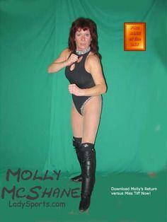 Molly McShane - Womens Pro Wrestling