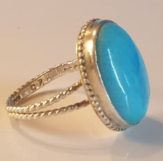 Check out this item in my Etsy shop https://www.etsy.com/listing/475782186/turquoise-ring-turquoise-silver-ring