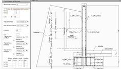 Tutorial para el cálculo de #muros de #contencion de #hormigon mediante la herramienta online e-struc