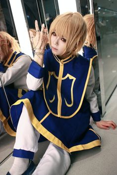 Kurapika cosplay-Humter x Hunter.