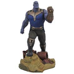 THANOS 9 pulgadas Marvel PVC Gallery Statues - Avengers 3 Infinity War Movie PRE-VENTA $1100 aparta con $500 salida para el mes de mayo o antes  visita RONINTOYS.COM