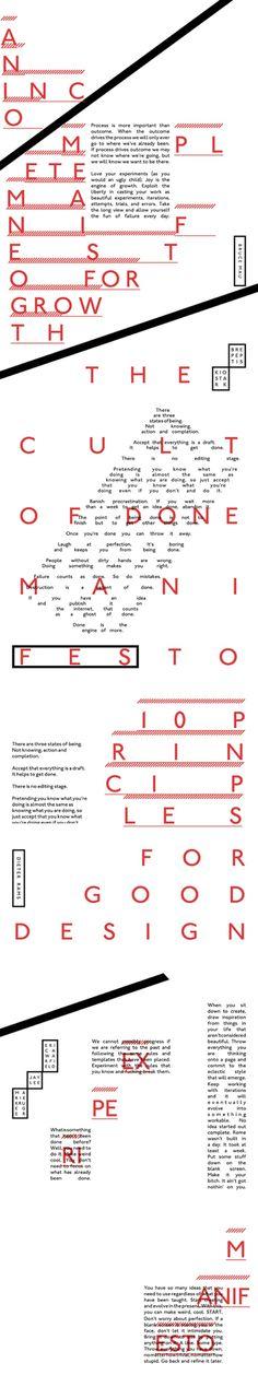 Everything / iPad magazine design manifesto