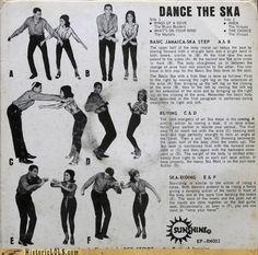 Dance the Ska! Basic Jamaica Ska steps, for all those still in doubt on how to dance the Ska! Ska Music, Dance Music, Dr. Martens, Design Observer, Jamaican Music, People Dancing, Music People, Teddy Boys, Kids Clothing Brands