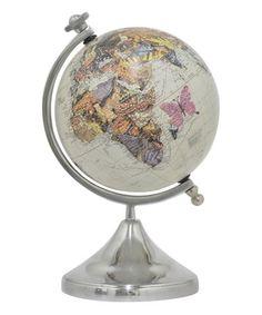 Look what I found on #zulily! Tan Globe #zulilyfinds