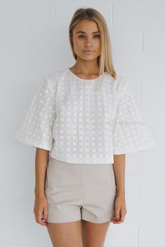 talulah fern top - ivory via Esther Boutique #witcherystyle