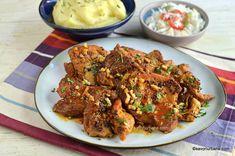 Ceafă de porc cu usturoi înăbușită la tigaie rețeta de pörkölt unguresc. Cum se face friptură scăzută de porc la tigaie? Ceafă prăjită la tigaie Catering, Recipies, Goodies, Dinner, Cooking, Ethnic Recipes, Meals, Pork, Red Peppers