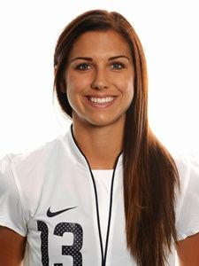Alex Morgan...flawless