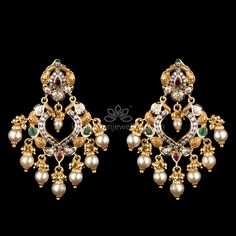 Traditional Earrings Online At Kameswari Jewellers In India Ethnic Jewelry