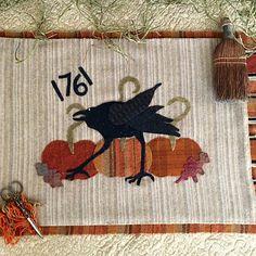 Primitives, Primitive Wool, Punch Needle, Quilts, Vintage, Primitive Patterns