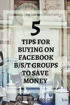 5 Great tips for buying on Facebook B/S/T groups.