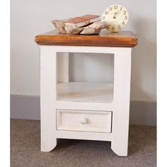 French county side table with draw