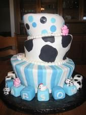 cow baby shower cakes   Cakes by Melanie: Barnyard Baby Shower