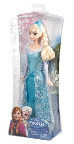 Amazon.com: Disney Frozen Sparkle Princess Elsa Doll: Toys  Games