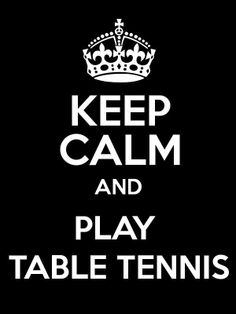 Relax - and play some pingpong with me :)