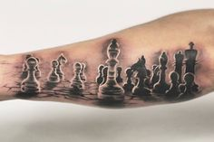 Dmitri is looking for clients for the upcoming Montreal Tattoo convention September 9-11, first come first serve! Chess pieces With guest artist: @dmitriskribans _ Dmitri is currently taking bookings, for inquiries call us at 416-544-0311 or email us at info@chronicinktattoo.com _ #workproud #wearproud