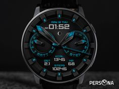 Smartwatch, Persona, Gear S3, Samsung, Watch Faces, Cool Watches, Color Splash, How To Look Better, Technology