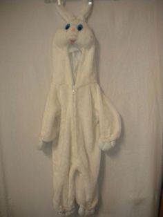 Unbranded Toddler One Size Plush White Easter Bunny Rabbit Halloween Costume #Unbranded #Plush