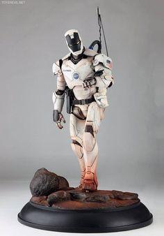 Heath Hammond - Castaway - Nasa Iron Man Custom