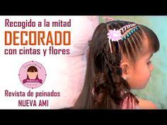 Make Your Video Clips Nail Spa, Little Girl Hairstyles, Mi Long, Hair Designs, Bobby Pins, Diana, Little Girls, Braids, Hair Beauty
