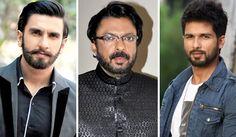 Padmavati: Shahid Kapoor, not a guest says Sanjay Leela Bhansali; Ranveer Singh widens