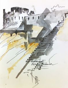 Urban Sketchers: Revdanda sketching trip..