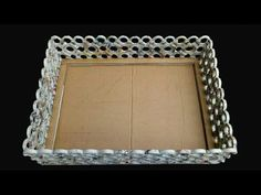 How To Make A Basket with newspaper, Cardboard and Fevicol Simple And Easy - YouTube