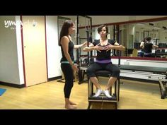▶ Stability Chair demo at Pilates Studio at Central YMCA Club - YouTube