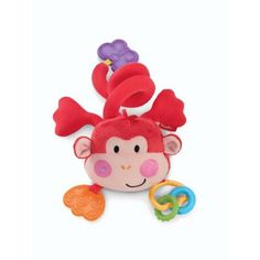 For Alex, Fisher-Price Discover 'n Grow Musical Monkey Stroller Toy