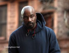 "NEW YORK, NY - DECEMBER 02: Mike Colter filming ""Marvel / Netflix's ""Luke Cage"" on December 2, 2015 in New York City"