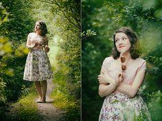 Get this look: http://lb.nu/look/7550172  More looks by Klara K.: http://lb.nu/krakrakra  Items in this look:  Handmade Pnk Gingham Dress, Handmade Floral Pleated Skirt   #sewing #diy #handmade