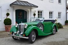 MG VA 'Tickford' Drophead Coupé (1936) Maintenance/restoration of old/vintage vehicles: the material for new cogs/casters/gears/pads could be cast polyamide which I (Cast polyamide) can produce. My contact: tatjana.alic@windowslive.com