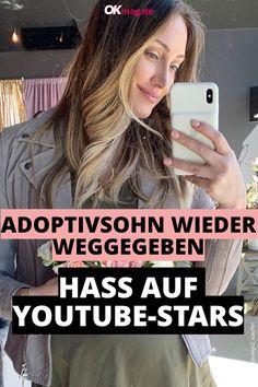 YouTuberin Myka Stauffer wird von ihren Fans im Netz hart angegangen. Myka kassierte einen heftigen Shitstorm, weil sie ihren Adoptivsohn Huxley wieder abgegeben hat ...   #youtube #reallife #okmag Shitstorm, Real Life, Star Wars, People, Youtube, My Son, Hate, Mesh, Simple