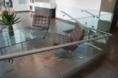 #Moroccan #Leather #limestone flooring to commercial reception