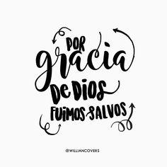 //Dios los salvo por su gracia cuando creyeron.  Ustedes no tienen ningún mérito en eso; es un regalo de Dios.// EFESIOS 2:8.  #dios #cristovive #reyvencedor #goodnotdead