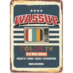 (予約販売)WA$$UP / COLOR TV (3RD MINI ALBUM) [WA$$UP][CD] 韓国音楽専門ソウルライフレコード - Yahoo!ショッピング - Tポイントが貯まる!使える!ネット通販