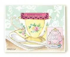 Kimberly Shaw Warm Wishes Tea Card