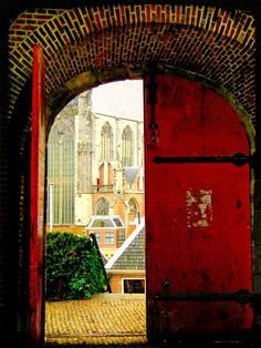 "Fairy Tale Photograph ""Leiden Castle Lookout"" European Fine Art Photo Print. $25.00, via Etsy."