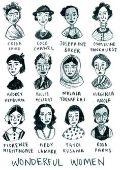 50 Best Strong Women Quotes In Celebration Of Women's History Month All of these women kicked ass and took names. Let their histories inspire you to change your life and the lives of others. Feminist Af, Feminist Quotes, Feminist Icons, Equality Quotes, Who Runs The World, Strong Women Quotes, Quotes Women, Intersectional Feminism, Badass Women