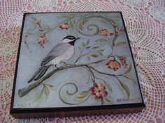 Kate Miller Bird Picture, I have this, bu tit's a table tray.