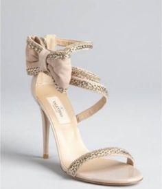 Beautiful wedding shoes - VALENTINO GARAVANI HEELS