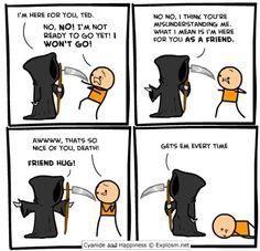 Friend hug?