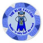 The Blue Falcon custom stickers by Doctrine Man!!