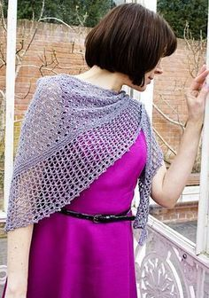 Free pattern, for a single skein of fingering weight + beads