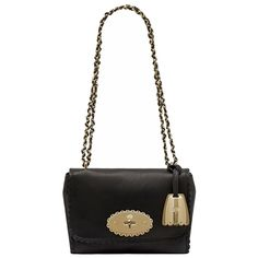 5bb7a5258099 Mulberry Cookie Lily in Black Soft Matte Leather -  935 Mulberry Lily