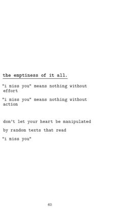 the emptiness of it all by r.h. sin