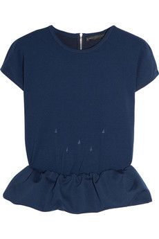 Let's discuss how absolutely perfect this Marc by Marc Jacobs peplum top is, shall we?
