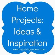 Hundreds of home projects organized by category! Must see!
