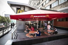 Under the guise of enforcing hygiene standards, Vladimir Putin continues his push against McDonald's franchises.