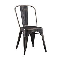 Black Metal Stacking Chair  Kmart $35  Nest  Pinterest  Black Cool Kmart Kitchen Chairs Review